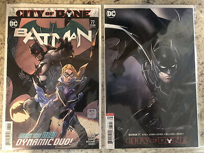 DC Batman #77 City Of Bane A & B Cover Set Death Of Alfred