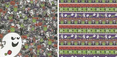 25 sheets Scrapbook Paper HALLOWEEN PARTY Reminisce HP001 double sided
