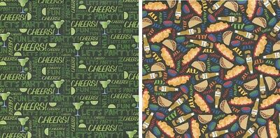 25 sheets Scrapbook Paper HAPPY HOUR CHEERS Reminisce RCS003 double sided