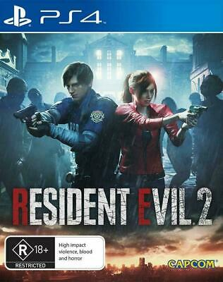 Resident Evil 2 PS4 Playstation 4 Brand New Sealed AUS
