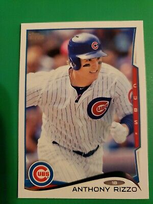 2014 Topps Anthony Rizzo Card #71..Chicago Cubs