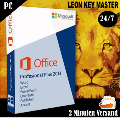 ✔ MS Office 2013 Professional Plus ✔32&64 Bits ✔ESD ✔24/7 SUPPORT
