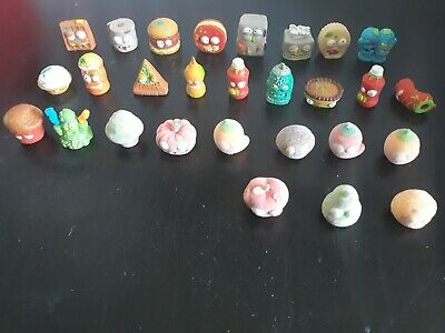 28x Lot Of Grossery Gang Small Figures