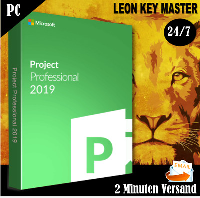 ✔ MS Project 2019 Professional ✔Pro Plus ✔32&64 Bits  ✔ESD per email