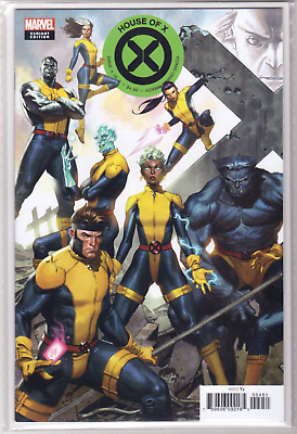 🔥 HOUSE OF X #4 Jorge Molina Connecting VARIANT Cover E Marvel Unread NM+🔥