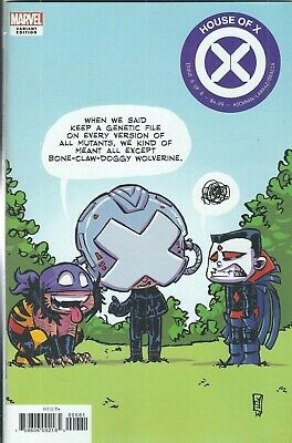 HOUSE OF X #6 of 6 (2019) SKOTTIE YOUNG VARIANT MARVEL COMICS V/F+