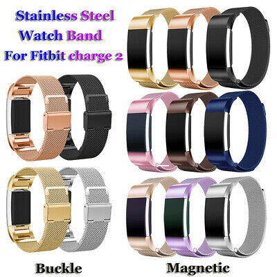 Wristbands Milanese Watch Band Bracelet Strap Magnetic For Fitbit Charge 2