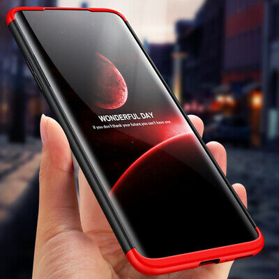 360° Full Cover Protective Hybrid Hard Case Shockproof Slim For Oneplus 6 7 Pro