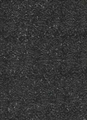 Luxury GLITTER Sequin Dance Wear Fabric Material - BLACK