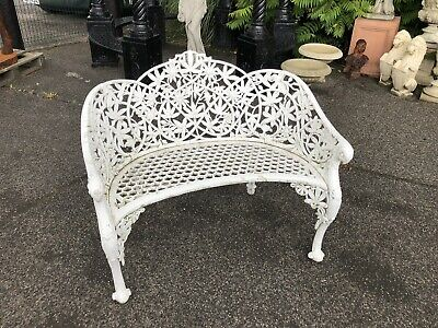Lovely Cast Bench After CoalBrookdale Rare Bench