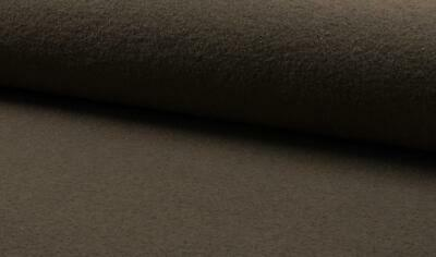 Luxury 100% Boiled Wool Fabric Material – TAUPE
