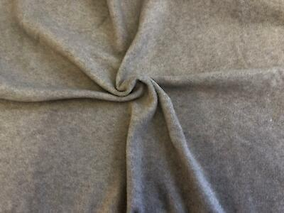 CLEARANCE JERSEY Polar Fleece Fabric Material - TAUPE