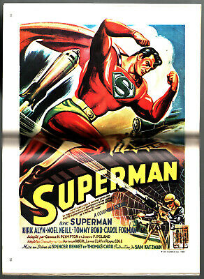 ¤ SUPERMAN GEANT n°7 ¤ ¤ 1980 SAGEDITION ¤ ¤ TBE AVEC POSTER ATTACHE