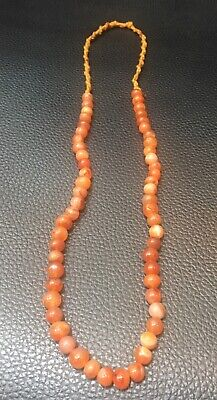 Afghanistan old agate stone necklace very beautiful necklace very old  agate