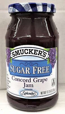 Smucker's Sugar Free Concord Grape Jam 12.75 oz Smuckers