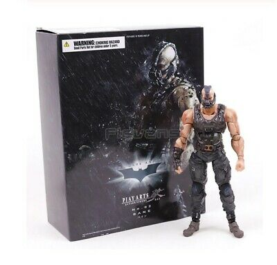 The Dark Knight Rises Trilogy Bane Play Arts Kai Action Figure Collectible Model