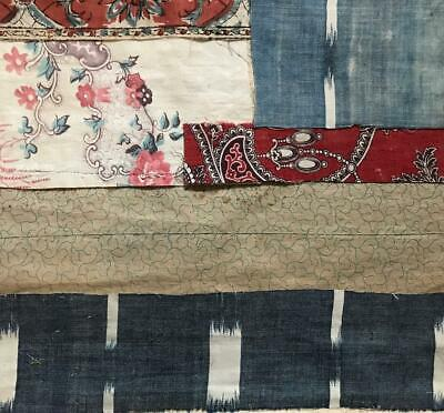 5 BEAUTIFUL SMALL PIECES 19th CENTURY FRENCH LINEN COTTON PROJECTS REF 232