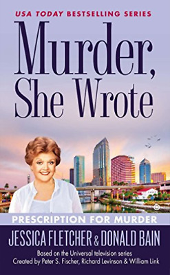 Fletcher, Jessica/ Bain, Do...-Prescription For Murder BOOK NEW