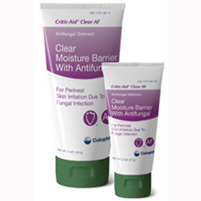 Coloplast 7572 Critic-Aid Clear Antifungal Moisture Barrier
