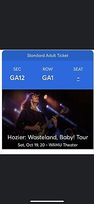 2 Hozier Tickets - Seattle