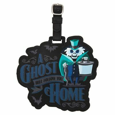 Disney Parks The Haunted Mansion A Ghost Will Follow You Home Luggage Tag NWT