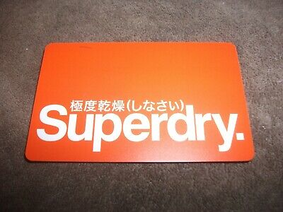 Superdry gift card/voucher,£49.99 credit,email voucher code or post card!...