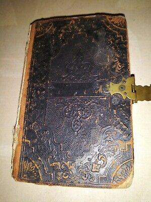 An 1855 Bible In Great Condition No Rips Or Tears