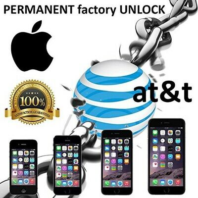 USA AT&T - iP All Models (Clean Imei Unlock&Check) 1-5 Days Delivery