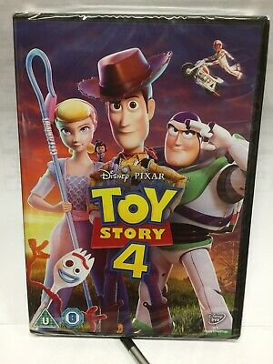 Toy Story 4 DVD Watched Once