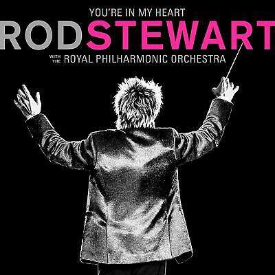 ROD STEWART 'YOU'RE IN MY HEART' (Royal Philharmonic Orchestra) CD (2019)