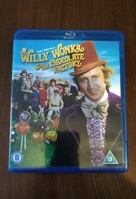Willy Wonka And The Chocolate Factory [1971] [Region Free] (Blu-ray)