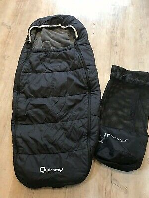Quinny Pushchair Footmuff With Bag