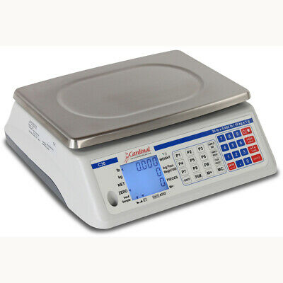 Detecto C30 Electronic Counting Scale-30 Lb Capacity