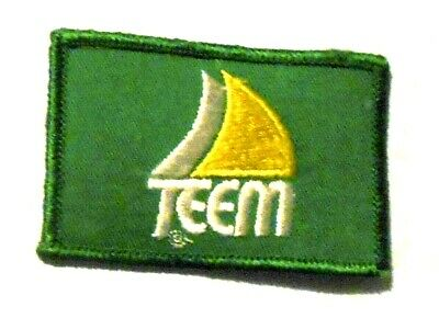 """Teem Embroidered Soda Patch Vintage 3-1/8"""""""