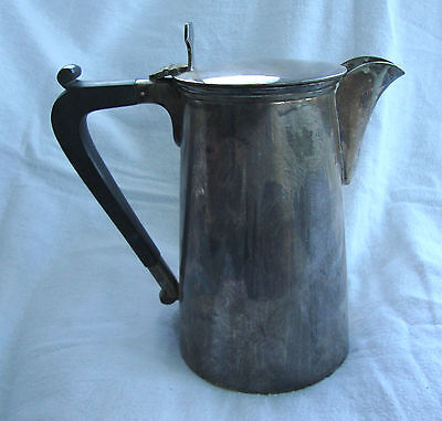 Antique Silver Plated Epns Hot Water / Coffee Pot No:41191