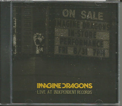 IMAGINE DRAGONS Live Independent 4 RARE TRX 2000  MADE CD SEALED RSD SEALED NEW