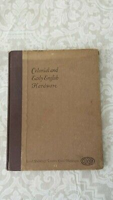 Colonial & Early English Hardware Corbin Catalog Illustrated Part Index Vintage