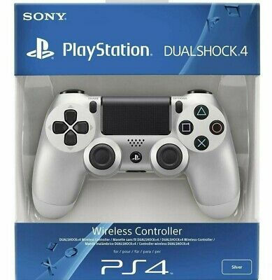 Brand New Sony PlayStation PS4 DualShock 4 Wireless Controller - SILVER