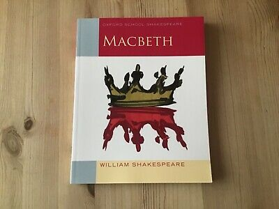 Macbeth Oxford school Shakespeare GCSE book