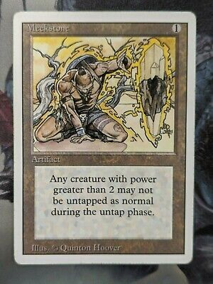 3ED MEEKSTONE 1x Rare Magic Revised Edition MTG