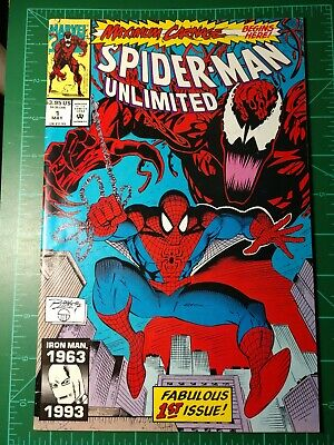 Spider-Man Unlimited #1 1993 see pics for condition.