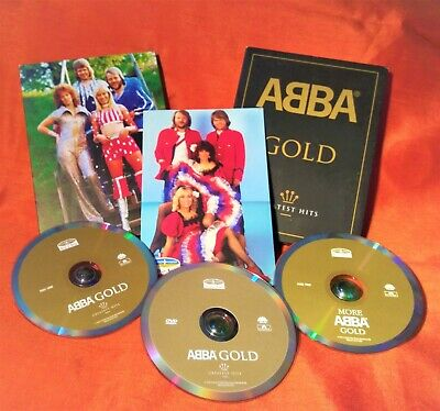 2 CD+ DVD (NTSC) ABBA Gold: Greatest Hits -Sound + Vision 602498101315