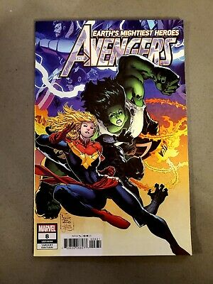 Avengers #8 (Nov 2018, Marvel) - Philip Tan Incentive Variant Cover (Nm)