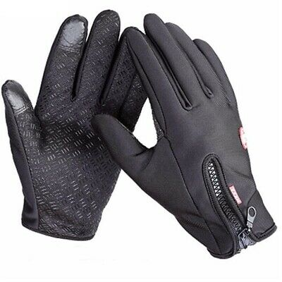 Windproof Anti-slip Warm Driving Gloves Thermal Touch Screen Glove For Men Women