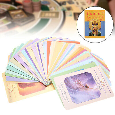 Tarot Cards Goddess Guidance 44 Oracle Cards Doreen Virtue English Magic Game