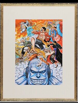 ONE PIECE Stampede Shueisha Eiichiro Oda luxury reproduction original picture