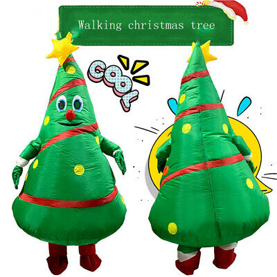 Christmas Tree Costume Party Cosplay Fancy Dress Halloween Funny Inflatable uk