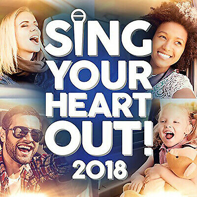 Sing Your Heart Out 2018 CD NEW