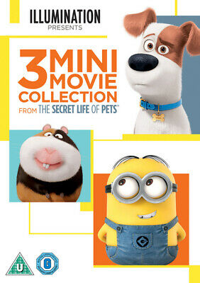 The Secret Life of Pets 3 Mini-movie Collection DVD NEW