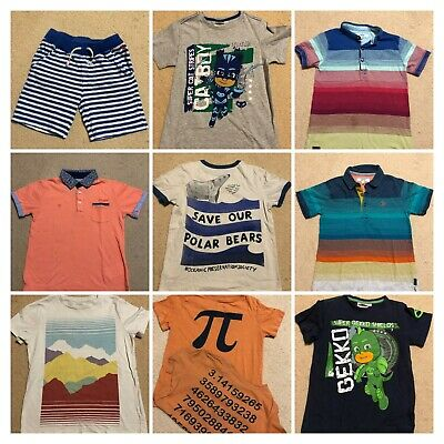Boys Shirts, Tops (Ted Baker, Joules, Gymboree, Monsoon, John Lewis ) 5-6yrs